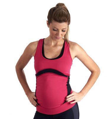 FittaMamma Ultimate maternity fitness top alta intensità
