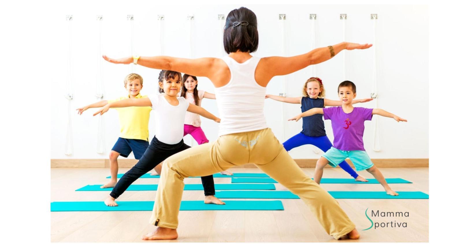 70cd4f86538c Simona di Mamma In Cerchio ci spiega perché far fare yoga ai bambini